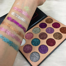 Diamond Glitter Lidschatten bilden Palette 15 Farben Set professionelle Make-up