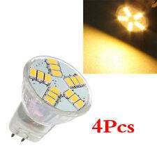 4x MR11 G4 4W 15 SMD 5630 LED Light Energy Saving Spotlight Bulb Lamp 12V UK HY