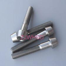 4pcs M5 x 30 mm Titanium Ti Screw Bolt Allen Hex Taper Socket Cap Head
