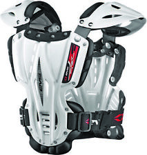 EVS Sports White Vex Chest Protector ( Size L / Large ) VEX-W-L Adult Vex Roost