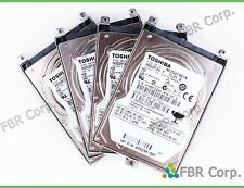 "MINT Lot 10 250GB HP 625239-001 Toshiba 2.5"" SATA 7200RPM Laptop Hard Drive Tray"