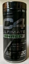 NEW Cellucor C4 Ultimate Shred Pre Workout Capsules Thermogenic Fat Burner