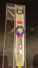 Crazy Eight GN125  GN125  1993 Vintage Swatch Watch. Diameter case 33 mm. Water