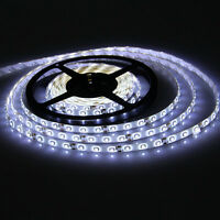 Cool WHITE 5M 3528 Waterproof Led SMD 300 Lights Flexible Strip Light DC 12V CAR