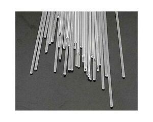 """Plastruct AR-2H Clear Rod,1/16"""" (40) [PLS90291]"""