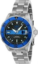 "Invicta 23151 38mm Grand Diver ""Police"" Automatic Date Carbon Fiber Womens Watch"