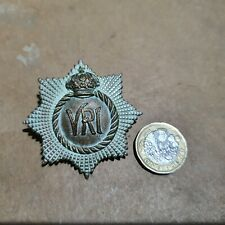 Original The Royal Canadian Regiment 2 piece Cap Badge 1894 - 1902