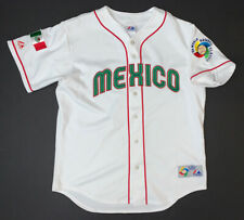 2006 Majestic Mexico World Baseball Classic Jersey Si3 Adult Large White WBC