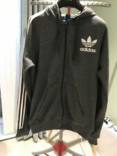 Adidas Dark Grey Tracksuit Top Size S