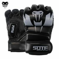 Adults MMA Venomous Snake Multicolor Boxing Gloves MMA Tiger Muay Thai Gloves