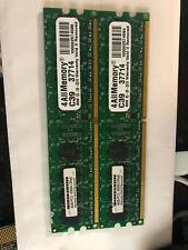 New listing 2x 4Gb 2Rx8 Pc2-5300U Ddr2 667Mhz 240Pin Udimm Desktop Memory {Ram} Non Ecc