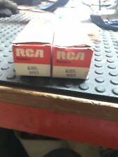 LOT OF 2 RCA 6JB5-6HE5 VACUUM TUBES NOS FREE SHIPPING