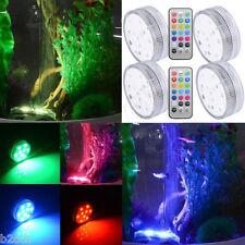 LED Wasserfest Tauchboot Unterwasser Teelichter Licht RGB für Badewanne Fisch GS