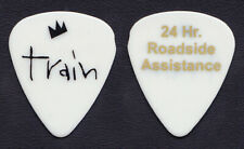 Train Jimmy Stafford 24 Hour Roadside Assistance White Guitar Pick - 2010 Tour
