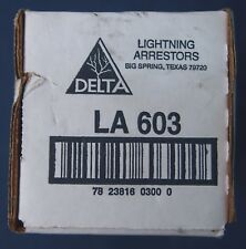 Delta La 603 Lightning Arrestor 3 Phase 4 Wire