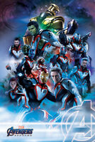 AVENGERS ENDGAME - CHARACTER COLLAGE POSTER 24x36 - 53199