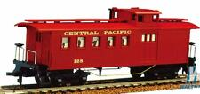 HO Scale - Central Pacific - Long Vintage Wooden Caboose - MAN-725006