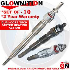 G508 For VW Touareg 5.0 V10 TDI Glownition Glow Plugs X 10