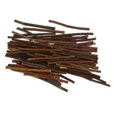 100pcs Natural Boxwood Tree Branch Sticks Branch for DIY Crafts Decoration