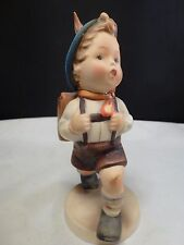 "Hummel Figurine ""School Boy"" #82 0 Goebel Germany Vintage 5.25"" Flying Bee"