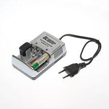 Batterieladegerät Accu Akku Batterie Ladegerät Schnellladegerät AA AAA 9 V Block