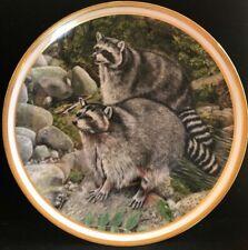 Set Of 5 Vintage Lenox American Wildlife Large Plates by Norman Adams 1982