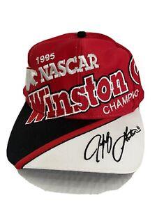 Vintage 1995 Winston Cup Jeff Gordon NASCAR Snapback Hat Cap