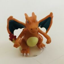 Large TOMY Charizard Figure With Stand Original NINTENDO Pokemon Toy Figures vtg
