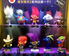 Mcdonald's 2020 Trolls World Tour Happly Meal Toys Set 8PCS Xmas Gifts &Tracking