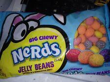 Big Chewy Nerds Jelly Beans Orange Grape Lemon Strawberry Candy 12oz bag