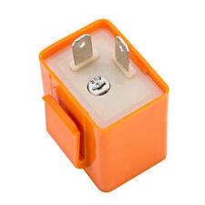 2 pines velocidad ajustable Indicador LED Flasher Relay Resistor Fix Flash Moto
