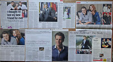James Cracknell - clippings/cuttings/articles pack