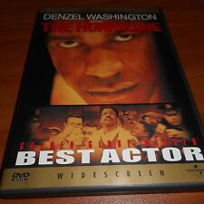 The Hurricane (DVD Widescreen 2000) Denzel Washington Used  Boxing