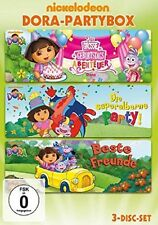DORA PARTYBOX (TONYA SMAY, ERIC WEINER, CHRIS GIFFORD,...) 3 DVD NEU