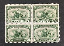 Canada 194 - Mint block of 4 - VF, NH