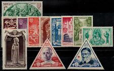 TIMBRES MONACO 1951 série n°353 au n°364 ! NEUF* COTE 65,50€