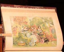 c1885 2vol Oeuvres de Rabelais Robida Illustrations Pierrre Jannet Ed Conforme