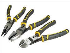 Stanley 0-72-415 Fatmax Compound Action Plier Set 3 Pieces NEW STA072415