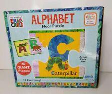 Alphabet Floor Puzzle (2015 University Games) Complete, World of Eric Carle