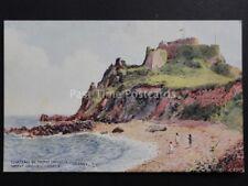 Jersey: Chateau De Mont Orgueil from Original Art by C.T.Howard Pub J.Salmon
