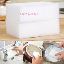 10Pcs Magic Sponge Cleaner Household Bowl Glass Kitchen Foam Cleaning Products