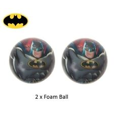 2x Batman Spugna da Gioco Ball-Party Favours-Fillers-Indoor & Esterno Play-Cool