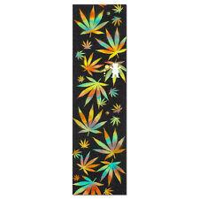 """Diamond Bear Grizzly Idea Cannabis Cutout Skateboard Grip Tape 9"""" x 33"""""""