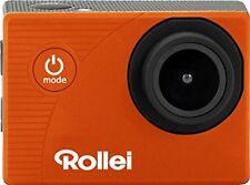 Rollei Actioncam 372 naranja Cámara de Acción Vídeos en