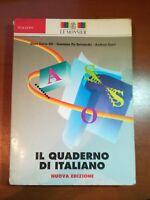 Il quaderno di italiano - AA.VV. - Le monnier - 1995 -M