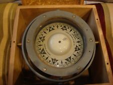 (VINTAGE) (RARE) Sestrel gimbal mounted ships compass by Henry Browne & Son