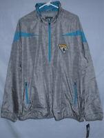 Jacksonville Jaguars NFL Quarter Zip Lightweight Pullover Jacket Men's Size 3XL
