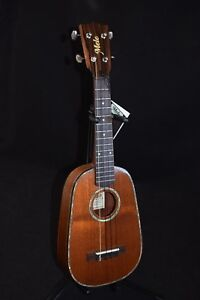 MELE  MAHOGANY PINEAPPLE CONCERT UKULELE with Abalone Shell Inlay.#PMCS