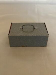 Mini Spielzeug DDR Geldkassette Kasse Hammerschlag #378