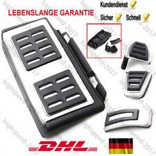 Für VW Pedal Kappen  Golf 7 5G GTI Audi A3 Fußstütze S3 Leon Octavia Ateca NEU